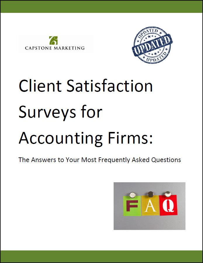 Client Survey FAQ Cover2 March 2015