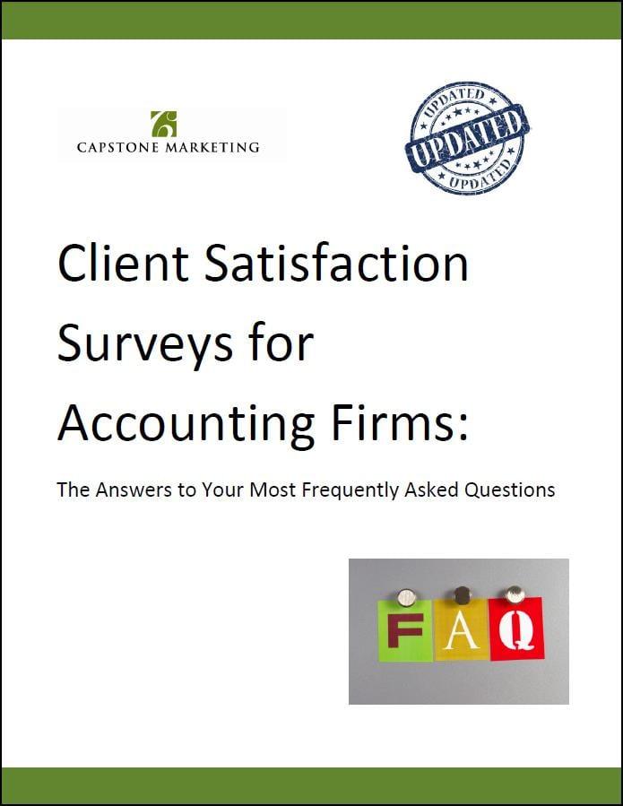 Client Survey FAQ Cover2 March 2015
